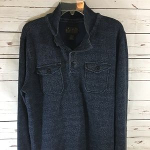Lucky Brand Long Sleeve Collared Shirt ~ NWOT